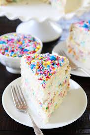 cake for birthday funfetti cake recipe two peas their pod