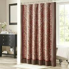 Brown And Gold Shower Curtains Curtains With And Gold Shower Curtain Fancy Curtain Rods