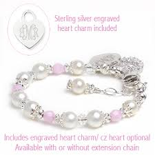 pink pearl bracelet images Delightful pink pearl bracelets for girls with cultured pearls and jpg