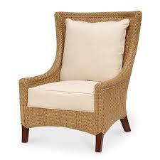 Wing Chair Palecek Soleil Wing Chair 7895 Wicker
