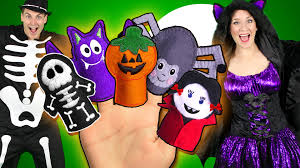 halloween finger family part 2 spooky monsters finger family