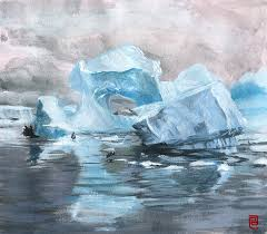 traditional sd painting iceberg by emile espinosa