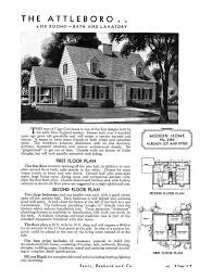 Cape Floor Plans by Sears Homes 1933 1940