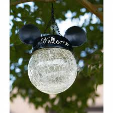 Solar Light Online Shopping Disney Clear Hanging Solar Light With Mickey Ears Shop Your Way