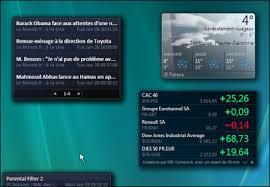 gadget bureau meteo pc astuces suivre les informations de ses préférés depuis