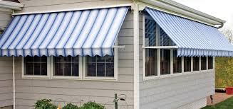 Blue Awning Retractable Window Awnings Robusta Retractable Awning Dealers
