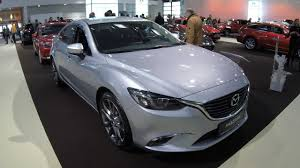 mazda car line mazda 6 sports line model 2017 diamant silver colour