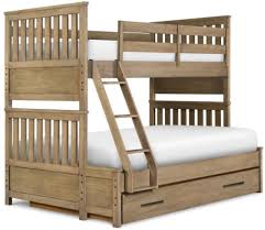Trundle Bunk Beds With Stairs And Twin Over Full Bunk Bed With - Full and twin bunk bed