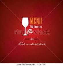 restaurant menu card design template long stock vector 99700055