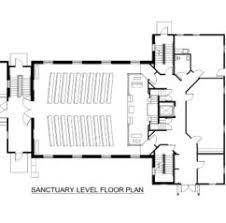 Simple Small Church Floor Plans Church Building Floor Plans by Home Design Baptist Church Sf Addition Jackson Michigan
