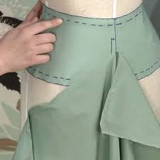 Draping On A Dress Form Drape A Skirt Sloper Threads