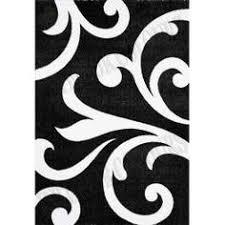 tappeti moderni bianchi e neri telo arredo gran foulard copriletto divano tavola