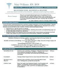 registered resume template resume objective registered resume new graduate nursing