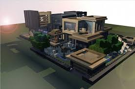 modern house blueprints modern house i made in minecraft projects to try