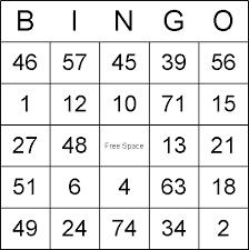 8 best images of free printable bingo cars printable bingo cards