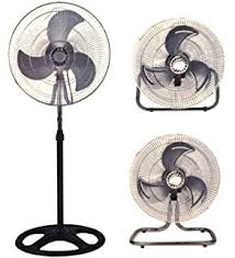 large floor fan industrial amazon com premium large high velocity industrial floor fan 18