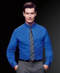 cobalt blue dress shirt dress yp