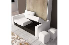 canapé lit armoire armoire lit escamotable avec canape lit relevable plafond efutoncovers