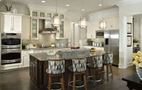 Kitchen Islands With Bar Stools Astounding Kitchen Island Lighting Height With Frosted Glass
