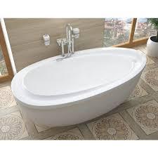 Free Standing Bathtub 38 X 71 Oval Freestanding Bathtub