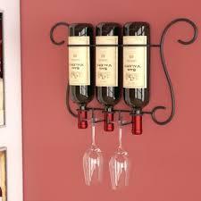3 bottle wine rack wayfair