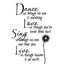 aliexpress com buy free shipping wholesale 50 discount off dance free shipping large size 30 160cm mural decal art live love laugh english quote vinyl wall decals home decor sticker