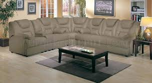 Pull Out Bed Sofa 4 5000 Home Theater Sectional Sofa W Pull Out Bed By Acme