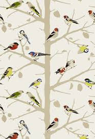 sarah u0027s house powder room bird wallpaper source powder room