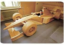 cars made out of wood 14