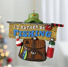 fishing lure fishing themed ornaments