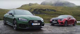 lexus vs audi a4 audi rs5 vs lexus rc f comparison reveals flaws in both