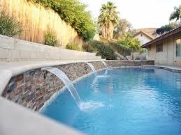pools with waterfalls swimming pool walls waterfalls trinity custom pools