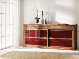 Wohnzimmerschrank Verschieben Solitärschrank Eiche Massiv Holz Antike Optik Bei Möbel