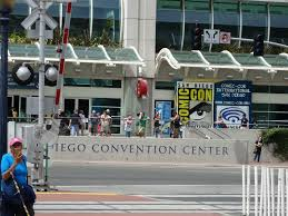 San Diego Convention Center Map by Portrait Of The Artist What Comic Con Dreams Are Made Of