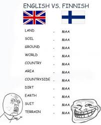 Finnish Language Meme - english vs finnish differenze linguistiche know your meme