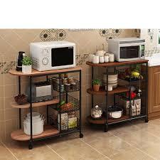 kitchen appliance storage cabinet kitchen storage holders metal wood microwave oven shelf stand kitchen appliances storage rack cabinet buy kitchen storage holder storage rack metal