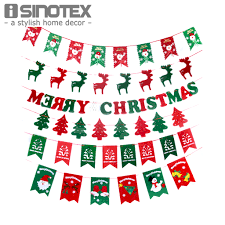 2m wholesale new christmas decorations for home christmas flag diy