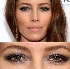 make your eye look bigger small eyes makeup jessica biel