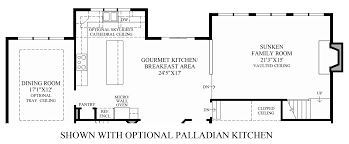 House Plans With Butlers Pantry The Woods Of South Barrington Estate Collection The Stansbury