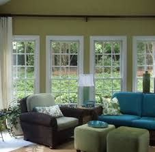 modern sunroom interior window treatments design