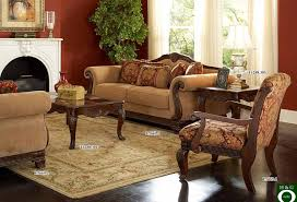 Desk Arm Chair Design Ideas Rolled Arm Brown Velvet Traditional Sofas Feat