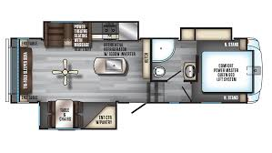 Open Range Fifth Wheel Floor Plans by Forest River Arctic Wolf 285drl4 5th Wheel For Sale