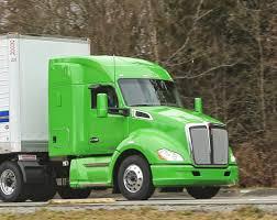 kenworth canadiense dieciocho ruedas el bajo co2 del gas estimula su uso en america