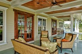Beadboard Porch Ceiling by Custom Home Traditional Porch Charleston By Shoreline