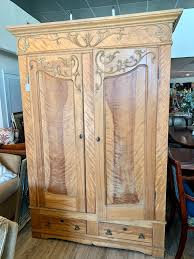 tiger maple wood kitchen cabinets antique tiger maple armoire