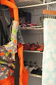 Nursery Closet An Organized Grey U0026 White Nursery Closet Simply Darr Ling