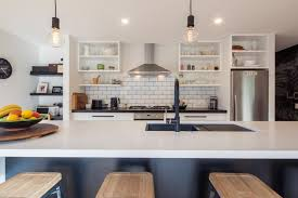 kitchen island trends open shelves kitchen trends build me www buildme co nz