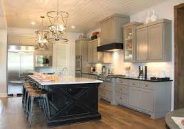 Gray Painted Kitchen Cabinets by Gray Kitchen Cabinets Burrows Cabinets Central Texas Builder