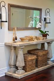 Diy Console Table Plans by Best 25 Rustic Console Tables Ideas On Pinterest Diy Furniture