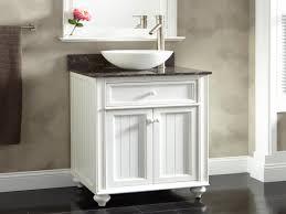 cottage bathroom furniture white beadboard bathroom vanity